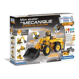 Clementoni - 52262 - Atelier Mécanique - Engins de chantier (337730)