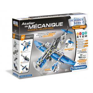 Clementoni - 52225 - Atelier Mécanique - Avions et hélicoptères (337732)