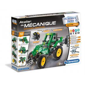 Clementoni - 52224 - Atelier Mécanique - Machines agricoles (337734)