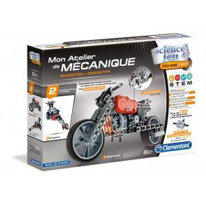 Clementoni - 52216 - Atelier Mécanique - Roadster et Dragster (337740)
