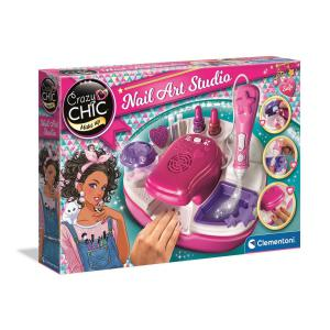 Clementoni - 15174 - Crazy Chic Studio Ongles de Star (337784)