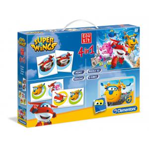 Clementoni - 52236 - Edukit 4 en 1 - Super Wings (337828)