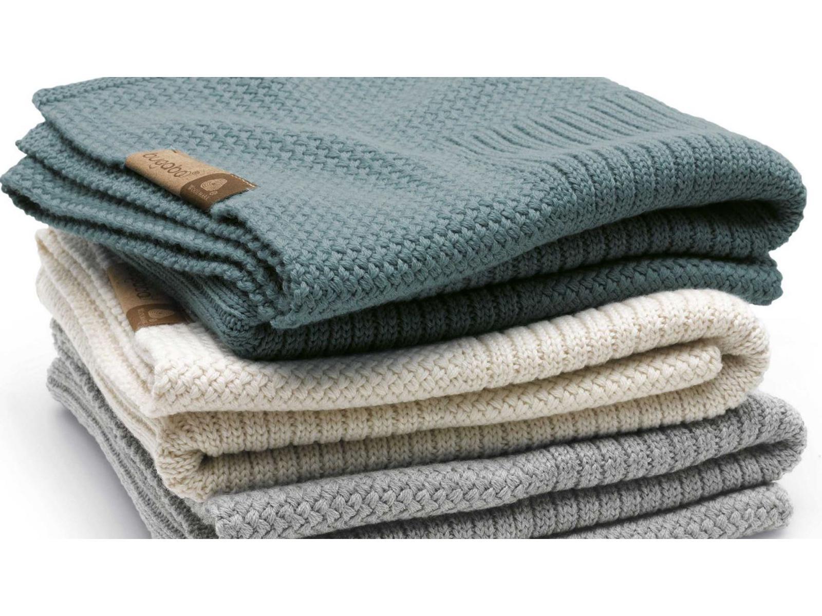 bugaboo couverture en laine 2016 gris clair m lange 80x100cm. Black Bedroom Furniture Sets. Home Design Ideas