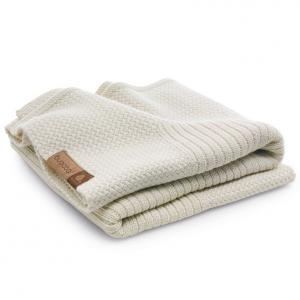 Bugaboo - 80153WH01 - Bugaboo couverture en laine Blanc Casse (339008)