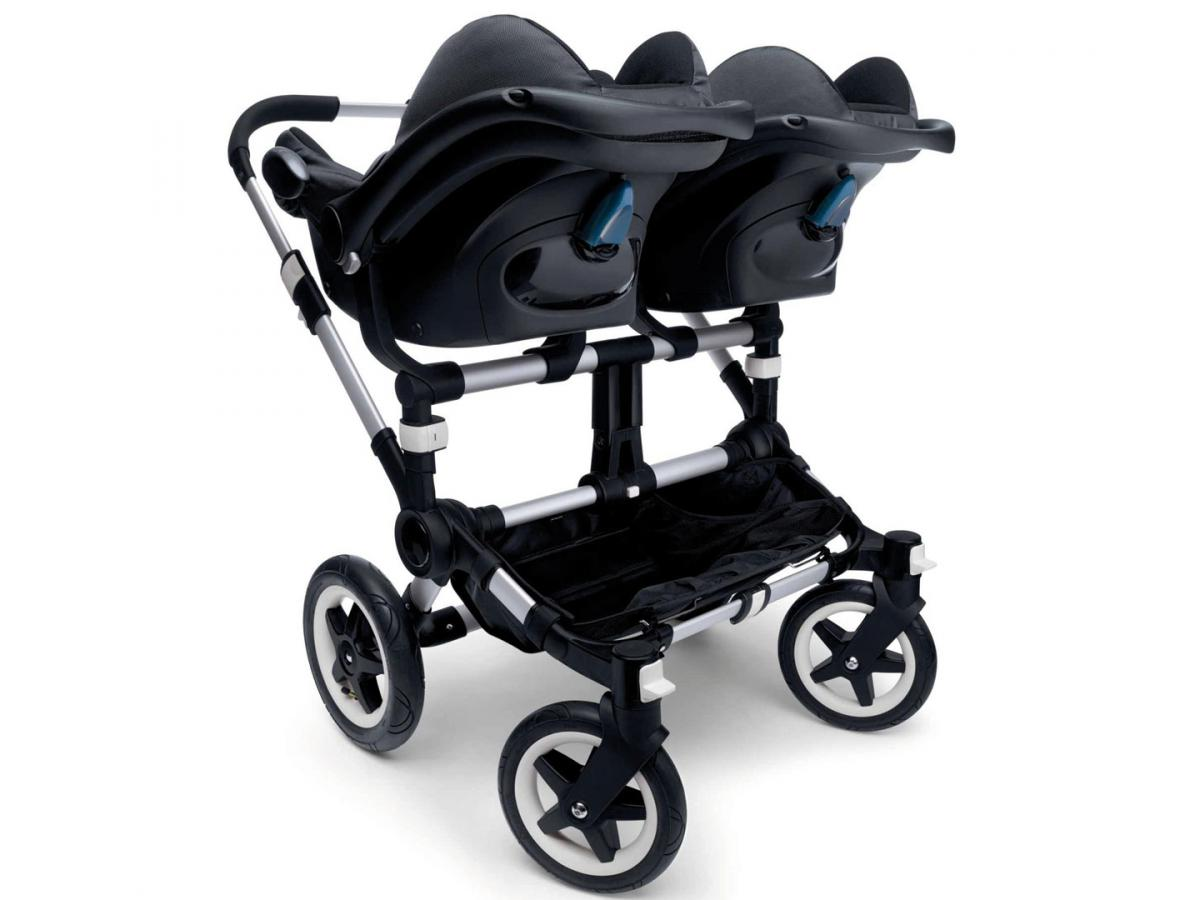 bugaboo adaptateur jumeaux si ge auto maxi cosi pour poussette donkey. Black Bedroom Furniture Sets. Home Design Ideas