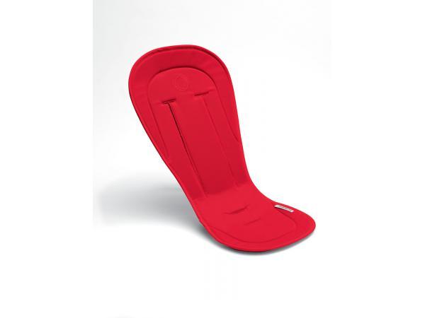 Coussin confort rouge pour poussette bugaboo