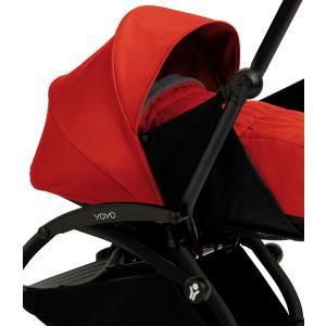 Babyzen - BU028 - Poussette Yoyo+ complète cadre  noir habillages 0+ et 6+ rouge (339528)