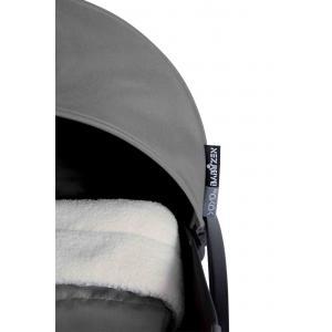 Babyzen - BU027 - Poussette Yoyo+ complète cadre  noir habillages 0+ et 6+ gris (339530)
