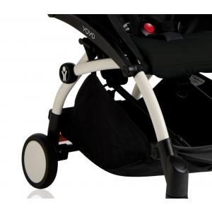 Babyzen - BU005 - Poussette Yoyo+ cadre blanc pack couleur 6+ noir (339576)