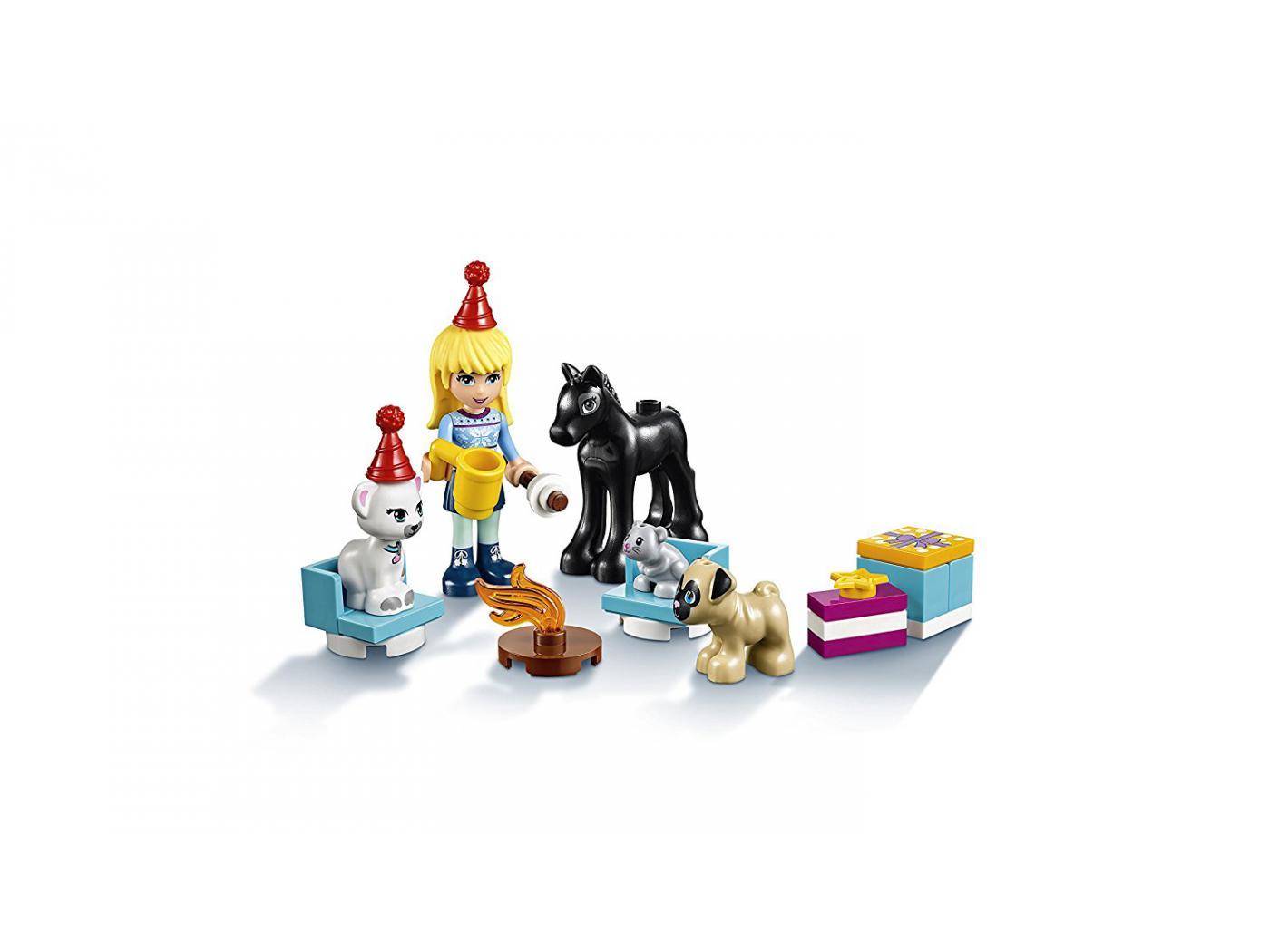 Lego Friends Calendrier De L Avent.41326 Le Calendrier De L Avent Lego Friends