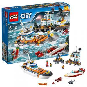 Lego - 60167 - Le QG des garde-côtes (340018)