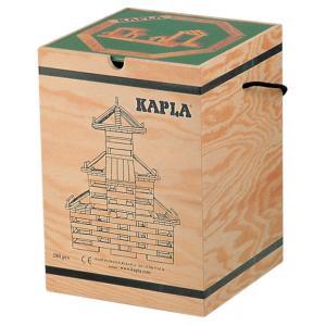 Kapla - MA - Malette Kapla 280 planchettes en bois + livre d'art (3426)
