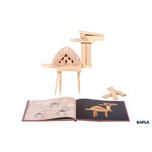 Kapla - LIVR1 - Livret d'Art Kapla - Tome 1 'Débutant' Rouge, 6/9 ans (3430)