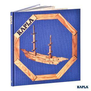 Kapla - LIVR2 - Livre d'Art Kapla - Tome 2 Bâtisseur confirmé Bleu, à partir de 9 ans (3431)