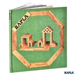 Kapla - LIVR3 - Livre d'Art Kapla - Tome 3 Architecture et Structures Vert, à partir de 3 ans (3432)