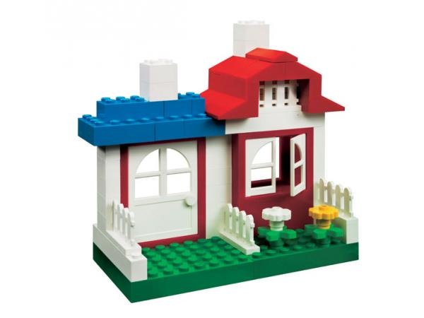 lego la bo te transparente lego construction maison. Black Bedroom Furniture Sets. Home Design Ideas