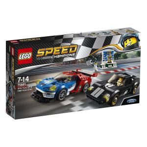 Lego - 75881 - Ford GT 2016 & Ford GT40 1966 (340194)