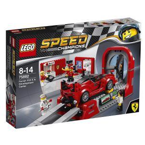 Lego - 75882 - Le centre de développement de la Ferrari FXX K (340196)