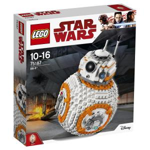 Lego - 75187 -  LEGO - 75187 - Star Wars - Jeu de construction - BB-8 (340262)