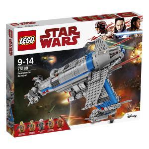Lego - 75188 - LEGO - 75188 - Star Wars - Jeu de construction - Resistance Bomber (340264)