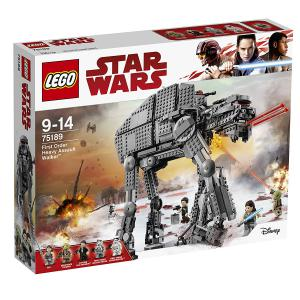 Lego - 75189 -  LEGO - 75189 - Star Wars - Jeu de construction - First Order Heavy Assault Walker (340266)