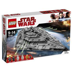 Lego - 75190 - LEGO - 75190 - Star Wars - Jeu de construction - First Order Star Destroyer (340268)