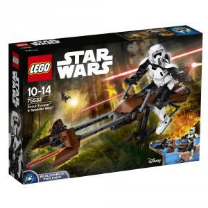 Lego - 75532 - Scout Trooper™ et sa moto speeder (340286)