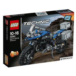 Lego - 42063 - BMW R 1200 GS Adventure (340302)