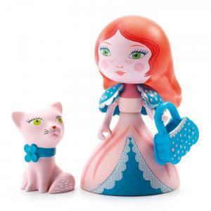 Djeco - DJ06777 - Arty Toys Princesses - Rosa & Cat (340442)