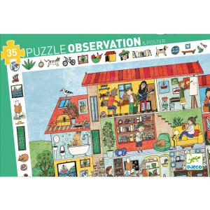 Djeco - DJ07594 - Puzzles observation la maison - 35 pièces (340488)
