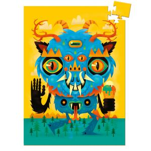 Djeco - DJ07673 - Mini puzzles the monster - 60 pièces (340496)