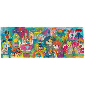 Djeco - DJ07649 - Puzzles Gallery magic india - 1000 pièces (340512)