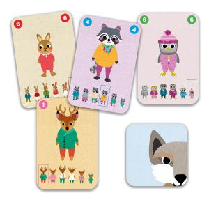 Djeco - DJ05103 - Jeux de cartes -  Familou* (340516)