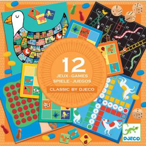 Djeco - DJ05218 - Jeu classique - Classic box 4+* (340524)