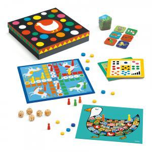 Djeco - DJ05218 - Jeux classiques -  Classic box 4+* (340524)