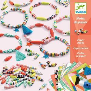 Djeco - DJ09404 - Papier créatif - bracelets de printemps (340586)