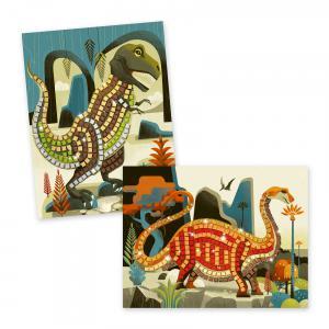 Djeco - DJ08899 - Mosaïques - Dinosaures (340642)