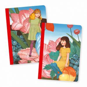 Djeco - DD03585 - Petits Carnets - Fédora - 2 carnets (340760)