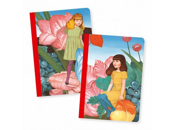 Petits carnets - fédora - 2 carnets