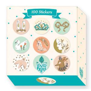 Djeco - DD03700 - Lucille - 100 Stickers (340776)