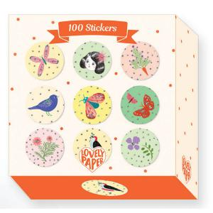 Djeco - DD03702 - Chic - 100 Stickers (340778)