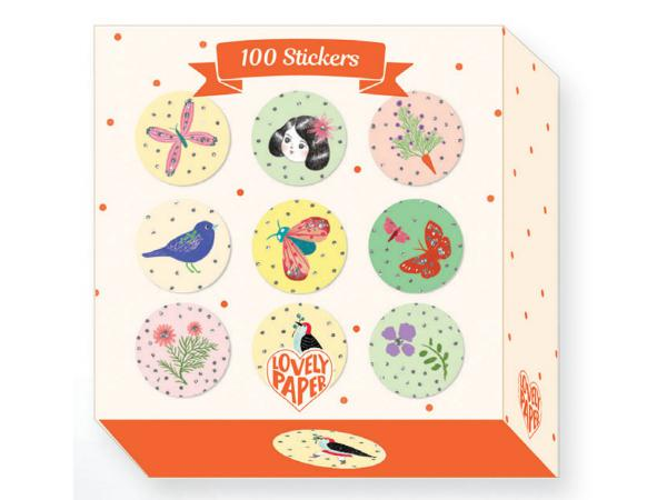 Décalcos / stickers - chic - 100 stickers