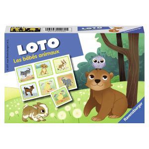 Ravensburger - 24084 - Loto les bébés animaux (341218)