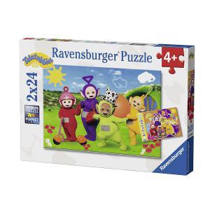 Ravensburger - 07804 - Puzzle 2x24 pièces - Bienvenue chez les Teletubbies (341290)