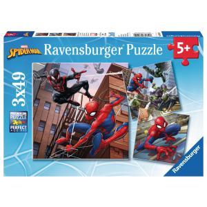 Ravensburger - 08025 - Puzzle 3x49 pièces - Spider-man - titre à confirmer (341316)