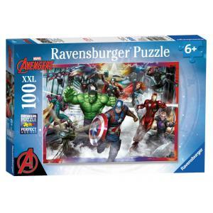 Ravensburger - 10771 - Puzzle 100 pièces XXL - Les plus grands héros /Avengers (341328)