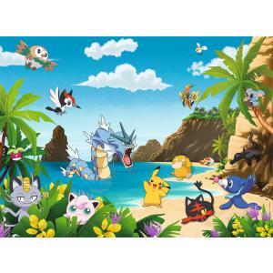 Pokemon - 12840 - Puzzle 200 pièces XXL - Attrapez-les tous ! / Pokémon (341340)