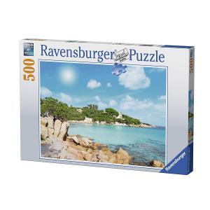 Ravensburger - 14758 - Puzzle 500 pièces - Plage de Sardaigne (341348)