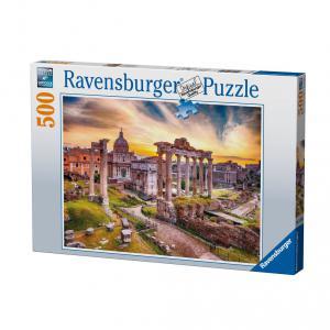 Ravensburger - 14759 - Puzzle 500 pièces - Rome au crépuscule (341350)