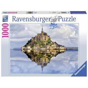 Ravensburger - 19647 - Puzzle 1000 pièces - Le Mont Saint-Michel (341366)